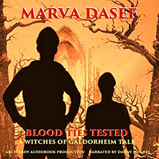 Blood Ties Tested audiobook cover art