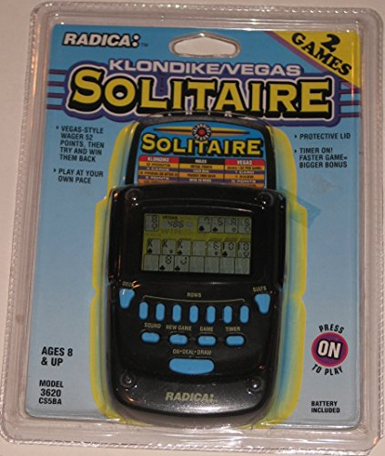 Radica Klondike Solitaire Handheld Game by Radica Games