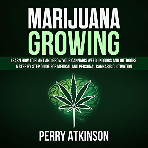 Marijuana Growing audiobook cover art