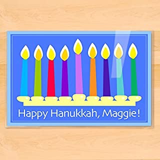 Olive Kids Personalized Hanukkah Placemat