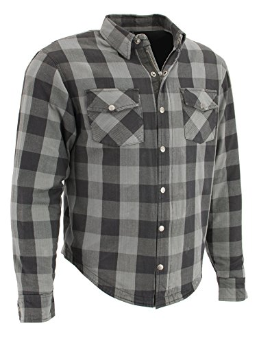 Milwaukee Performance MPM1630 Men's Armored Checkered Flannel Shirt with Aramid by DuPont Fibers - 2X-Large