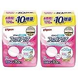 【Amazon.co.jp限定】 ピジョン 母乳パッド フィットアップ 136枚入 母乳育児をする多くのママに選ばれている母乳パッド マルチカラー 136枚入×2個 0か月~