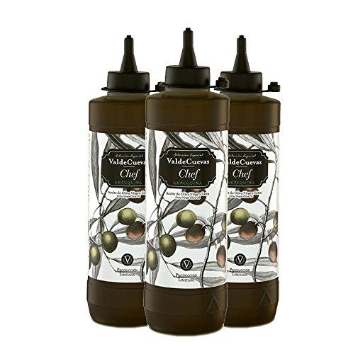 Biberon Aceite de oliva virgen extra Arbequina 500 ml (3 ud.)