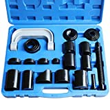 Ball Joint Press kit,Ball Joint Service Removal Tool with 4x4 Adapters, for Most