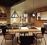 Home-Neat geométrica Shape LED colgante techo suspendida lámpara cromo iluminación reflectores Projector 3 luz en 1 placa de rectángulo d13.8 'x L47'