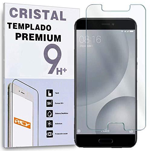 REY Protector de Pantalla para XIAOMI MI5C / Mi 5C, Cristal Vidrio Templado Premium