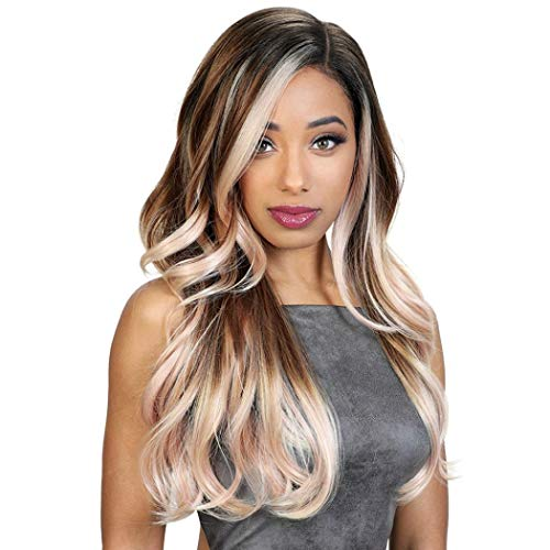 Zury Sis Synthetic Lace Part Wig The Dream - DR FREE H PETA (3TF ORANGE)