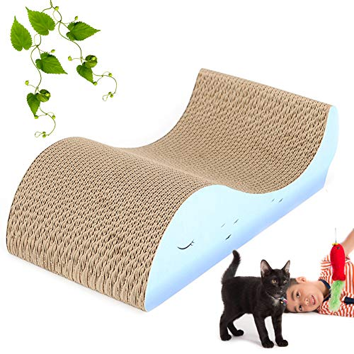 Portable Cats Scratch Pad, Kitten Scratching Toys, 100% Environmental Protection, Durable for Cats to Rest, Grind Claws and Play.