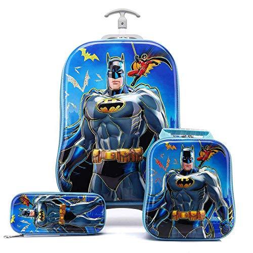 Trolley Bag Cartoon Suitcase Cute Travel case Large Capacity,Batman