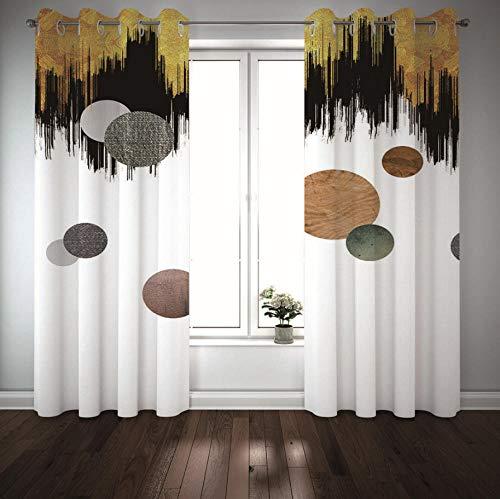 cortinas juveniles circulos