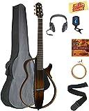 Yamaha SLG200S Steel String Silent Guitar - Trans Black...