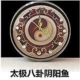 HUANGYAHUI Tai Chi Bagua Auspiciosa Reloj Bell Adornos De Diamantes Home Furnishing Peces...