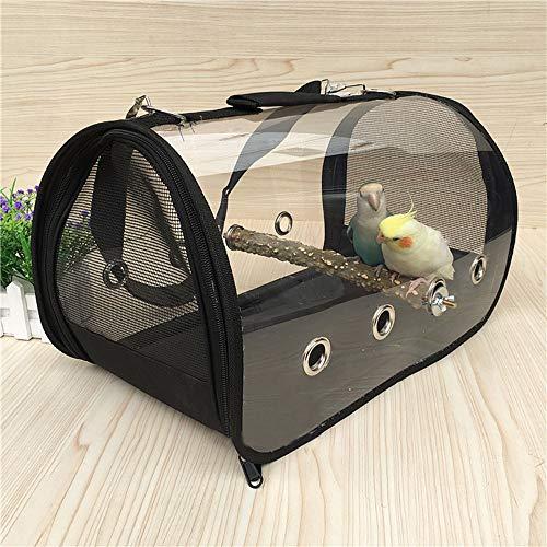 FJROnline Bewegliches Vogelnest Aus Dem KäFig Heraus Tragbare Vogeltasche Light Bird Carrier, Bird Travel Cage (A)