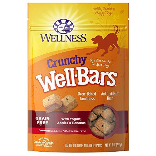 Wellness Crunchy Wellbars Natural Grain Free Dog Treats, Yogurt, Apples  Alabama