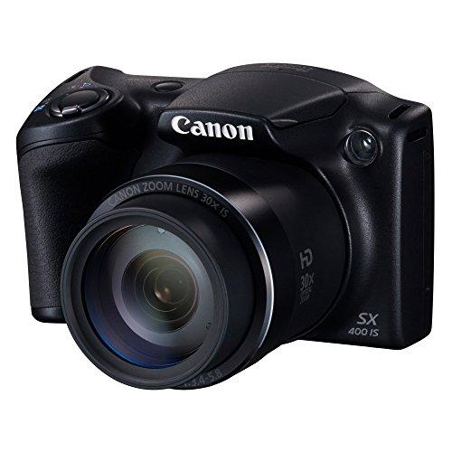Canon PowerShot SX400IS (BK) [International Version, No Warranty]
