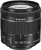 Canon EF-S 18-55 mm f/4-5.6 IS STM - Objetivo (Revestimiento de Lente Super Spectra, estabilizador de la Imagen, Parasol), Negro