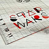 Camelot Fabrics 0696397 Star Wars Simplified SW Ruler