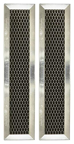 Replacement for GE JX81D, WB02X10943, Microwave Recirculating Charcoal Filter (2-Pack)