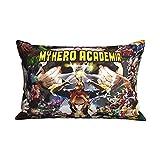 My Hero Academia Funda de cojín Accesorios de dibujos animados Funda de almohada Oficina en casa...