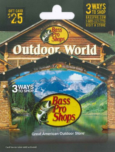 Bass Pro Shops Gift Card $25