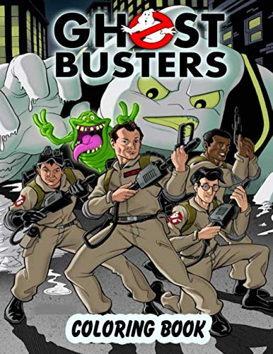 Ghostbusters 80s Coloring Book for the whole family to enjoy