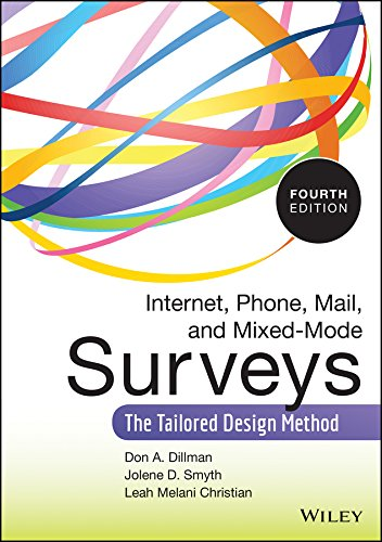 Compare Textbook Prices for Internet, Phone, Mail, and Mixed-Mode Surveys: The Tailored Design Method 4 Edition ISBN 8601421991599 by Dillman, Don A.,Smyth, Jolene D.,Christian, Leah Melani