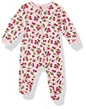 Juicy Couture Baby Girls' Coverall, Pink Print, 0-3 Months