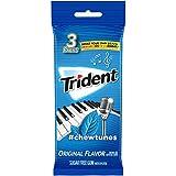 Trident Original Flavor Sugar Free Gum, 3 Packs of 14 Pieces (42 Total Pieces)