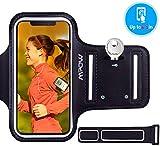 Mpow Brazalete Deportivo Para Corre con Soporte para Llaves, cables y tarjetas,Antideslizante Contra Sudor, Brazalete Movil para iPhone XR/XS/ X/ 8/7/6,Galaxy S9/S8 Huawei,LG hasta 6.1 pulgas