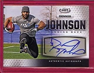 2013 SAGE HIT Silver Autographs #A33 Dennis Johnson