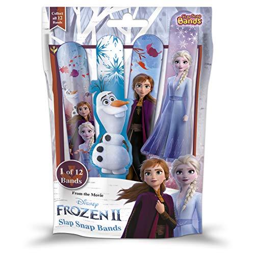 CRAZE 2 Slap SNAP Bands Frozen II braccialetti a scatto per ragazze bambini gioielli bracciale da collezione 19009 braccialetto colorato