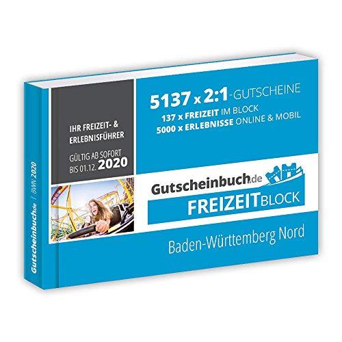 Gutscheinbuch.de Freizeitblock Baden-Württemberg Nord 2019/20