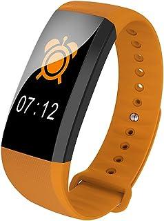 Qalabka M99 Smart Color Bracelet BT Message Reminder Impermeable Reloj Deportivo Inteligente Presión Arterial y frecuencia cardíaca Monitoreo en Tiempo Real