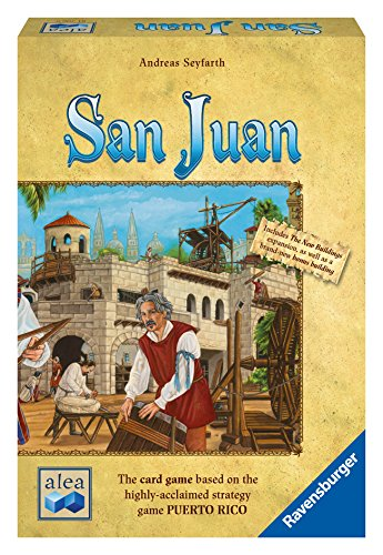 Ravensburger San Juan Game for Ages 5 & Up - Resource Management Strategy Board Game for The Whole Family