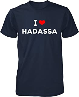 I Love Hadassa Men Tshirt
