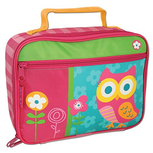 Stephen Joseph Lunch Box Tasche Kindergartentasche Butterbrot Box - Eule - Owl - für Mädchen