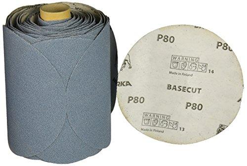 Mirka 22-314-080 Base Cut PSA Linkrol Disc, 5