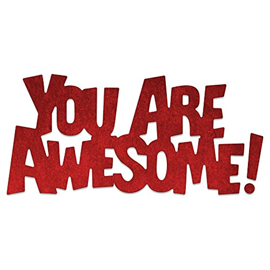 Cheery Lynn Designs B806 Whimsical You are Awesome Die