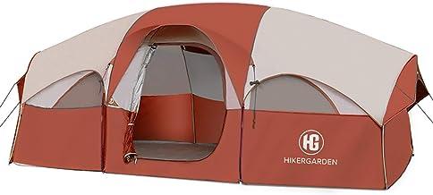 HIKERGARDEN Tent-8-Person-Camping-Tents, Waterproof...