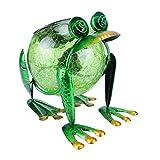 Solar Lantern Outdoor Decorative Waterproof LED Solar Lights Frog Tabletop Lamp for Outdoor Patio Garden