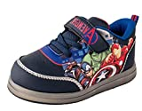 Favorite Characters Boy's Marvel Avengers Motion Lighted Casual Sneaker, Little Kid, Size 11 Blue