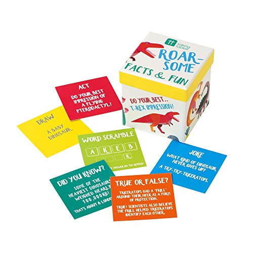 Talking Tables DINO-FACTS Dinosaur Feiten & Plezier Spel, Multi kleuren