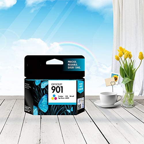 Accesorios de Impresora Original Nuevo Cabezal de impresión 901 Apto para Cartucho de Tinta HP 901 Apto para Deskjet J4580 J4660 4500 J4640 J4680 901 Cabezal de impresión.
