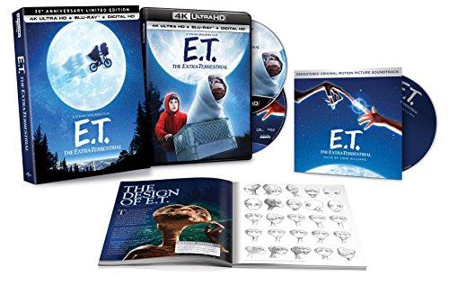 E.T. The Extra-Terrestrial 35th Anniversary Limited Edition 4K Ultra HD + Blu-ray + Digital + CD