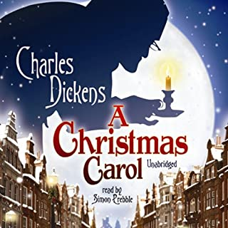 A Christmas Carol                   By:                                                                                                                                 Charles Dickens                               Narrated by:                                                                                                                                 Simon Prebble                      Length: 3 hrs and 9 mins     382 ratings     Overall 4.8