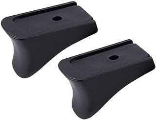 GVN Grip Extension Fits Magazine 9mm 10/12-Round - Grip Extension -2 Pieces Black