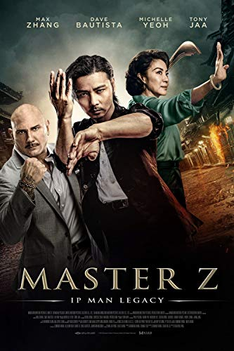 printdesign Master Z IP Man Legacy - Movie Poster Wall Decor Cartel de la película - 45 X 70 cm