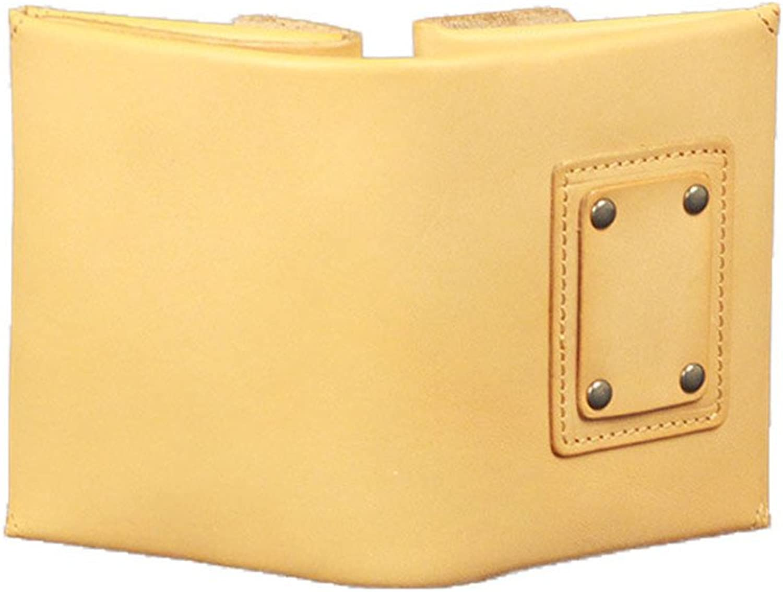 FLYSXP Kurze Brieftasche, Stilvolle Japanische Brieftasche Aus Rindsleder, Rindsleder, Rindsleder, Einfarbig, Offene Brieftasche, Damenbrieftasche B07KWS95H8 948b22