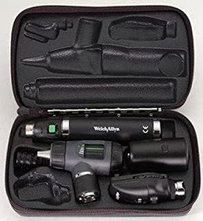 Welch Allyn - 3.5v Diagnostic Set with Coaxial Ophthalmoscope, MacroView Otoscope, Rechargeable Handle and Hard Case - -