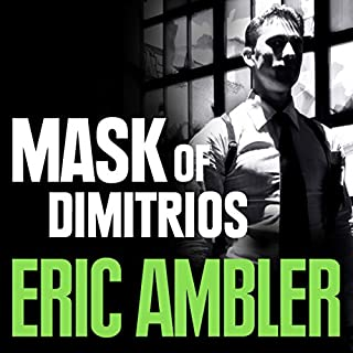 The Mask of Dimitrios cover art